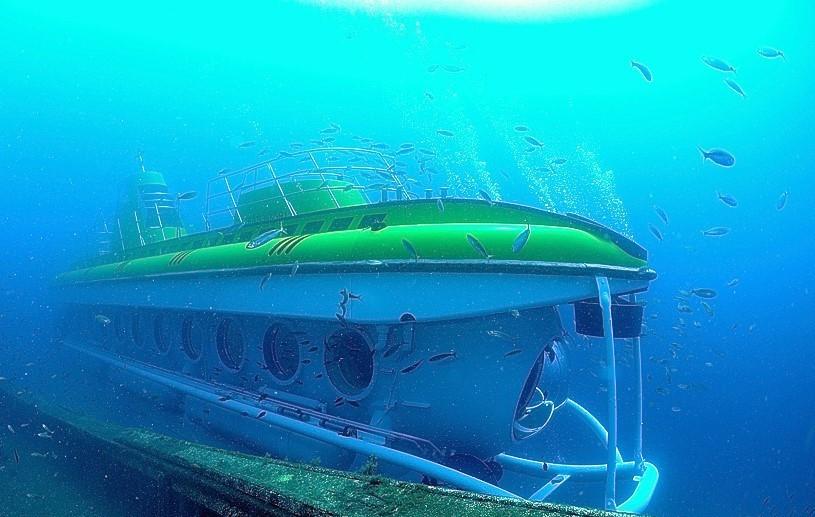 Submarine Tenerife south