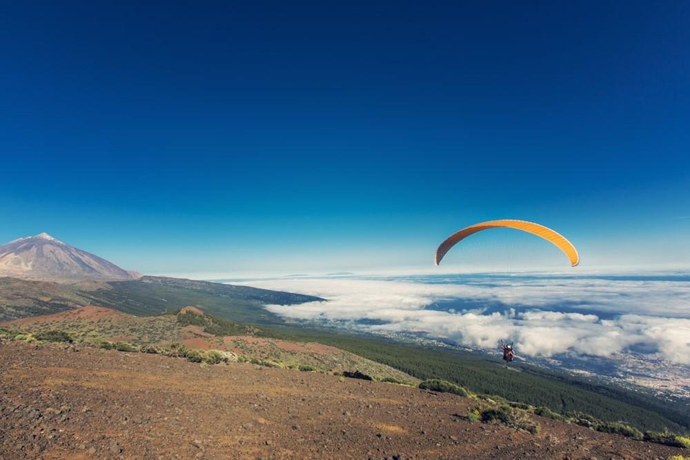 paragliding in Tenerife Villa Mandi Izaña